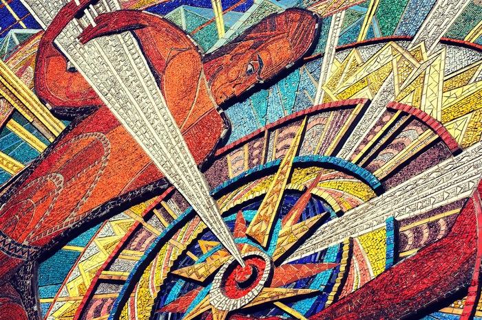 Советская мозаика Мозаика, Советское искусство, Длиннопост