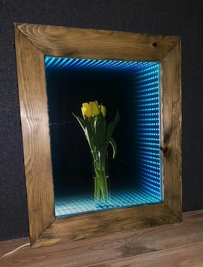 Зеркало, да не простое, а со спецэффектами Зеркало, Рукоделие без процесса, Сосна, Длиннопост