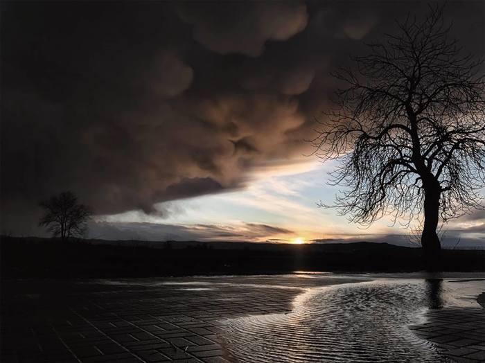 Город Явор. Польша. Тучи. Фотография, Природа, Погода, Красота, Польша, Тучи, Длиннопост
