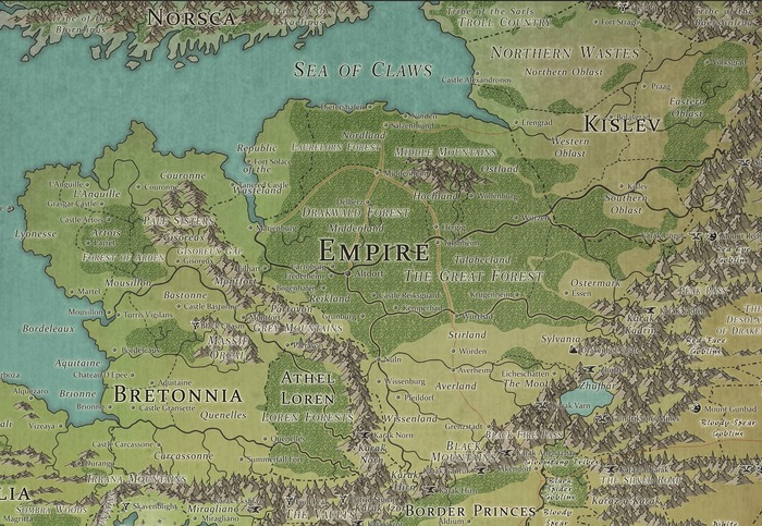 Империя Зигмара Total war: Warhammer, Фэнтези, Warhammer Fantasy Battles, Total War: Warhammer II, Длиннопост