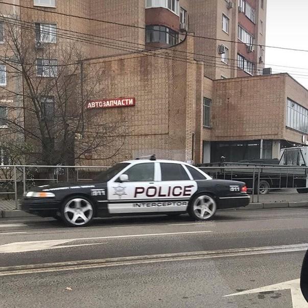 Новый шериф в нашем городке.. Полиция, США, Россия, Авто, Дизайн, Фото на тапок