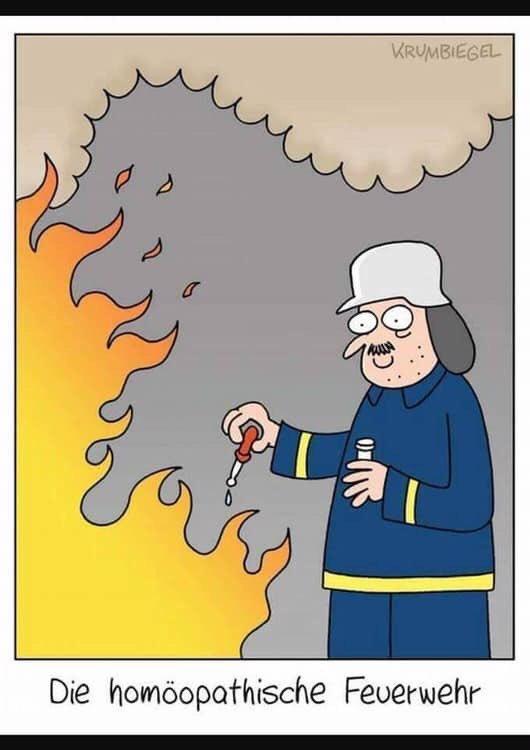 Пожарный-гомеопат
