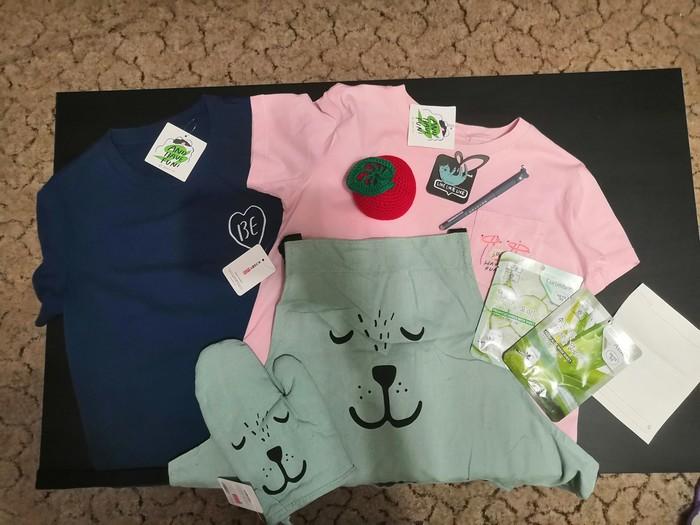 Обмен футболками Королев - Калач-на-Дону Обмен подарками, t-Shirts crossing, Отчет по обмену подарками