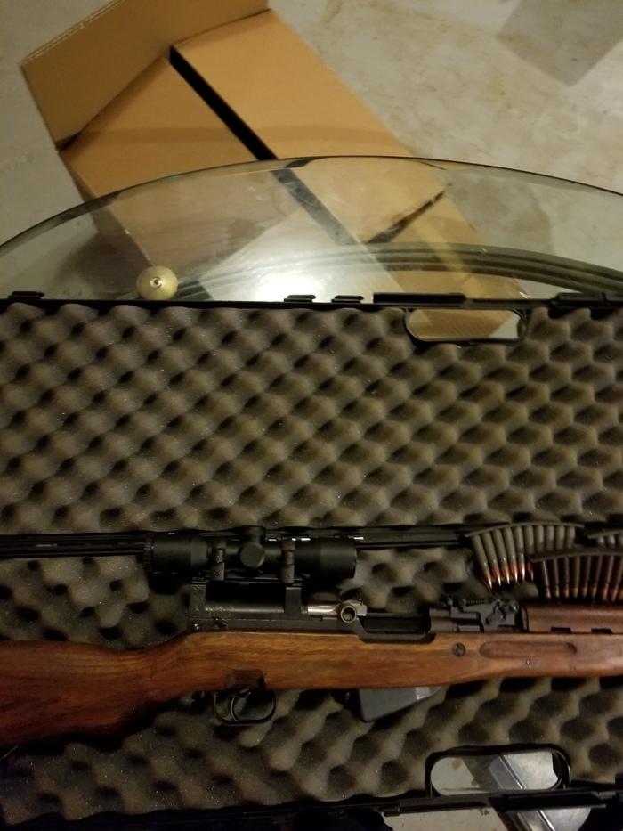 Продолжение истории с моей американской бабушкой соседкой Оружие, Подарок, Соседи, Огнестрельное оружие, Длиннопост