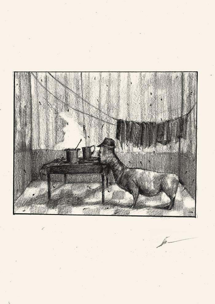 Отсканировал свои старые иллюстрации Арт, Рисунок, Рисунок карандашом, Длиннопост