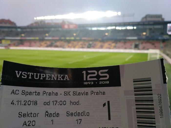 Иногда нужно чудо, чтобы попасть на дерби Футбол, Чехия, Прага, Славия прага, Спарта прага, Дерби, Длиннопост