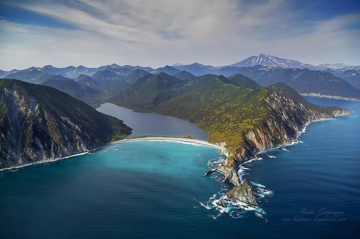 Контрасты великолепной Камчатки. Камчатка, Красота, Красота природы, Природа, Лес, Горы, Море
