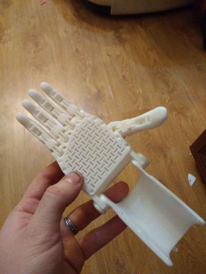 Протез пальца. Новая идея. Сложности. Часть 4. Фото+видео. Протез руки, Протез кисти, Протез, Протезирование, Бионический протез, Протез пальца, 3D, Видео, Длиннопост