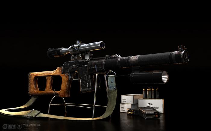 Запущена в продажу гражданская версия ВСС «Винторез» Оружие, Винторез, Гражданская версия, Длиннопост