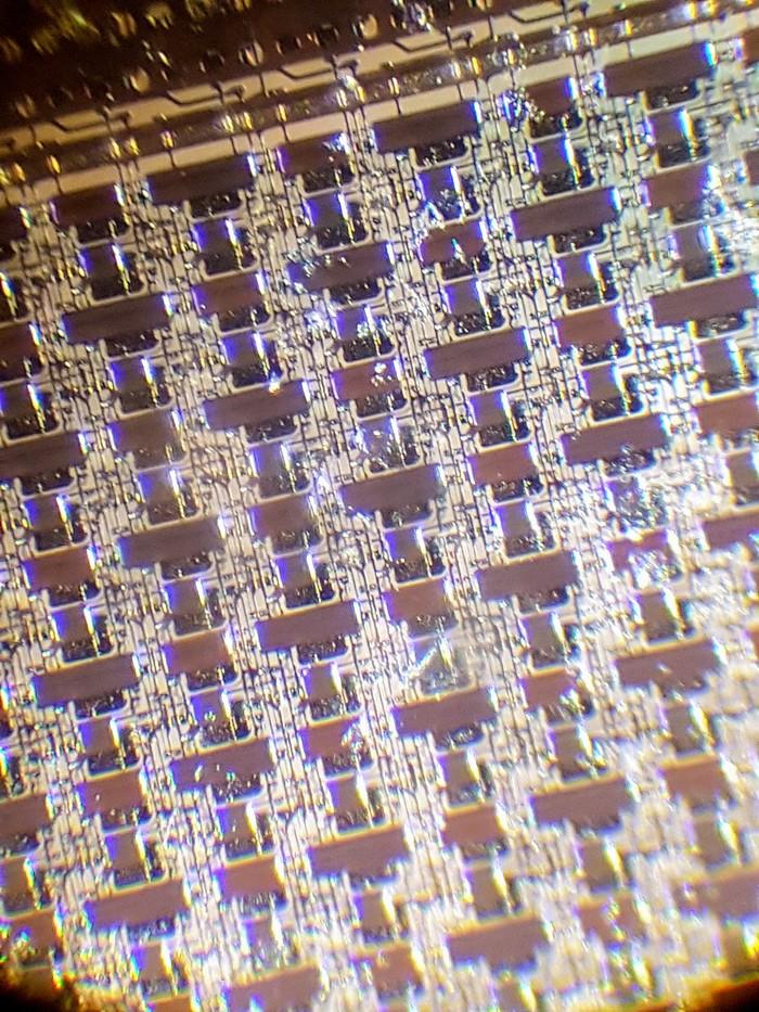OLED под микроскопом Дисплей, Микроскоп, Amoled, Видео, Длиннопост, Oled