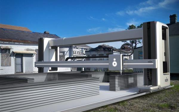 А вот это уже серьезный аппарат – строительный 3D принтер Vulcan II 3D принтер, Новые технологии, Строительство, Жилой дом, Длиннопост