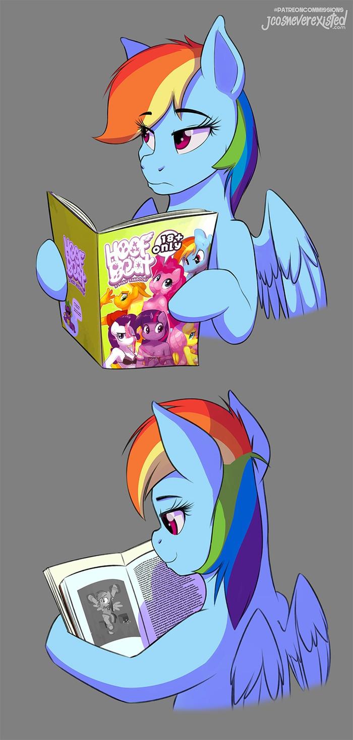 Мисс Беспалевность My Little Pony, Rainbow Dash, Mane 6, Daring Do, MLP Edge