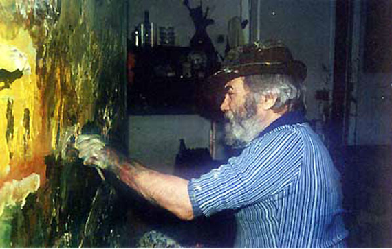 Обидеть художника может каждый Художник, Абстракция, Длиннопост