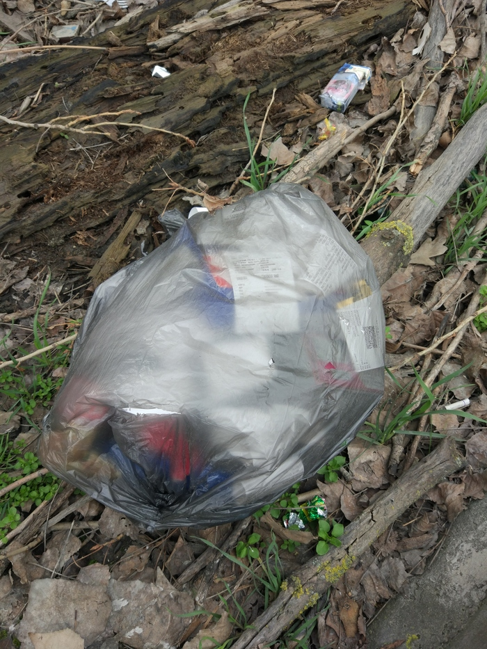 Пакет с мусором Мусор, Не мусорьте!, Пакет, Люди свиньи, Длиннопост