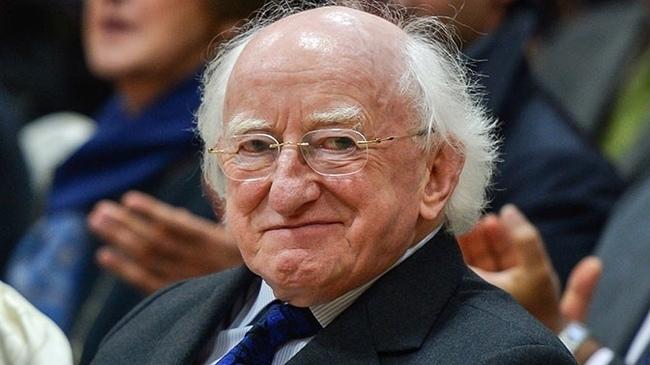 Милый старичок Волшебник, Старичок, Милота, Позитив, Длиннопост, Ирландия, Президент
