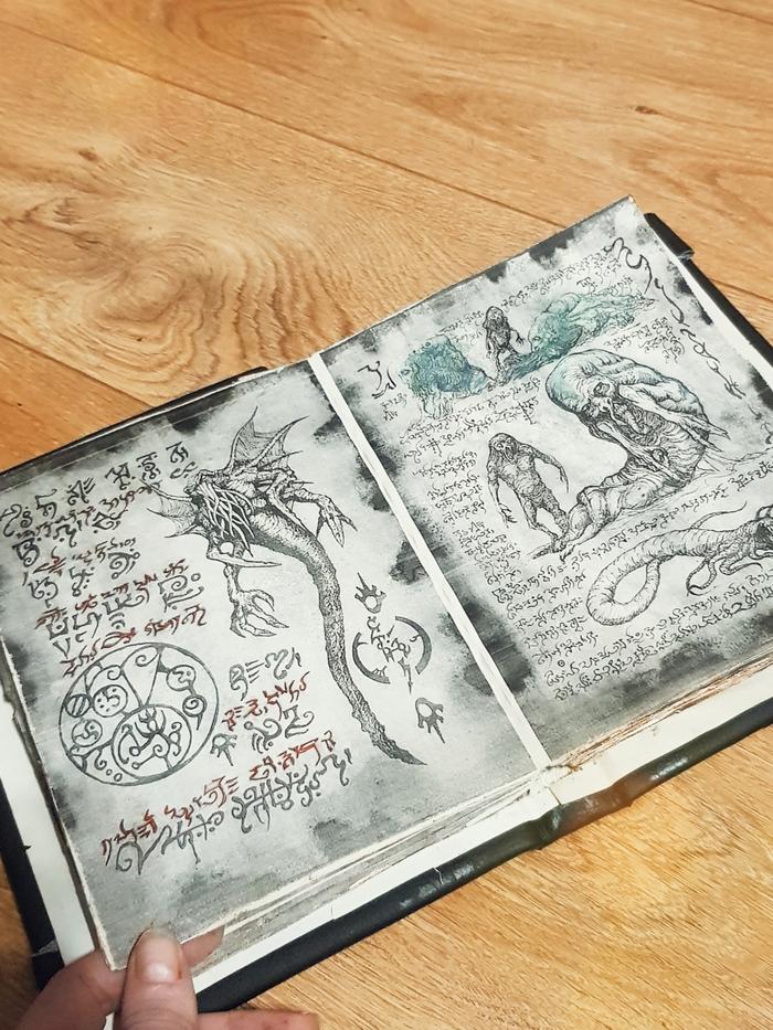 Любителям Лавкрафта Своими руками, Книги, Книга мертвых, Говард Филлипс Лавкрафт, Рукоделие без процесса, Длиннопост
