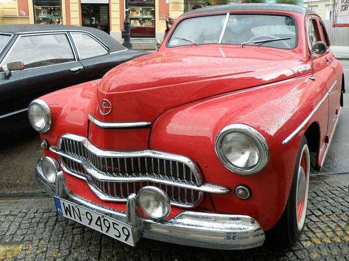 FSO Warszawa 201 1960 (1960 - 1962) Автоистория, Польша, СССР, Газ М-20 Победа, Длиннопост