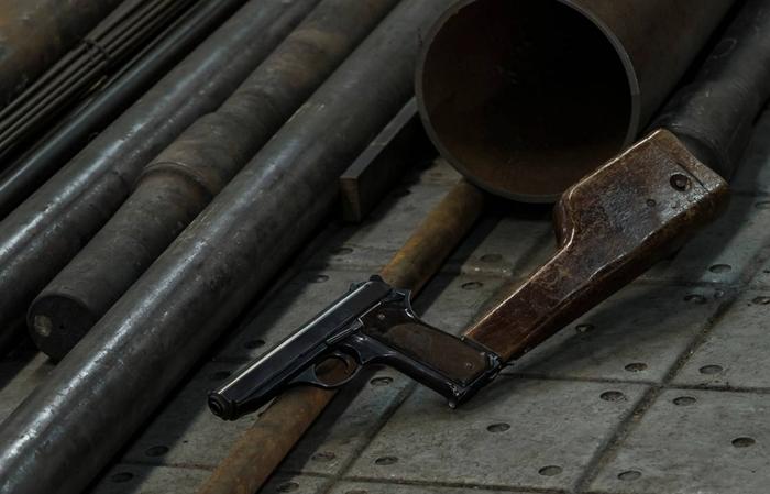 Автоматический пистолет Калашникова Пистолеты, Калашников, Оружие, Длиннопост