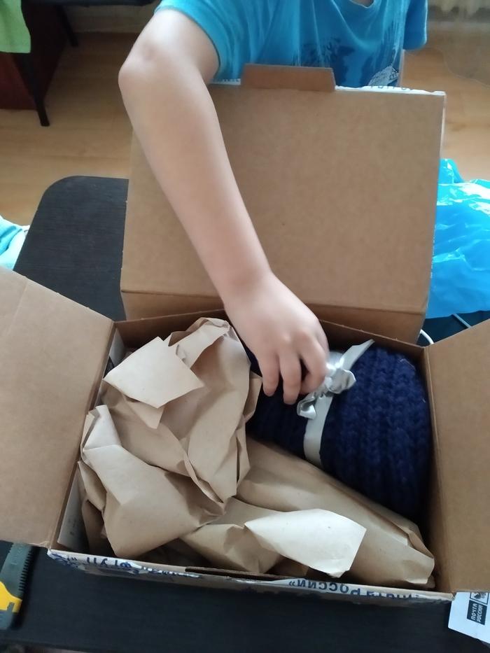 Обмен подарками, Тверь-Оренбург.) Отчет по обмену подарками, Посылка, Длиннопост
