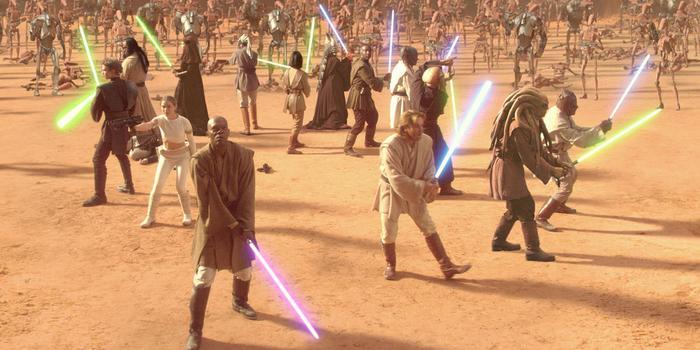 Немного о Звездных Войнах. Отчего джедаи и ситхи не умеют фехтовать на световых мечах? Star Wars, Меч, Фехтование, Халтура, Фильмы, Видео, Длиннопост