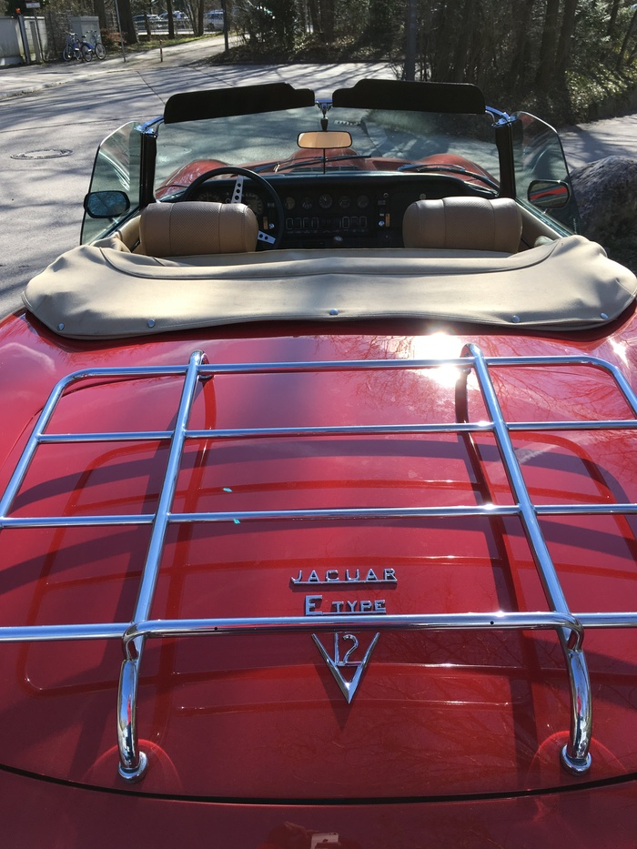 Jaguar E Type V12 Ретроавтомобиль, Длиннопост, Jaguar E-type