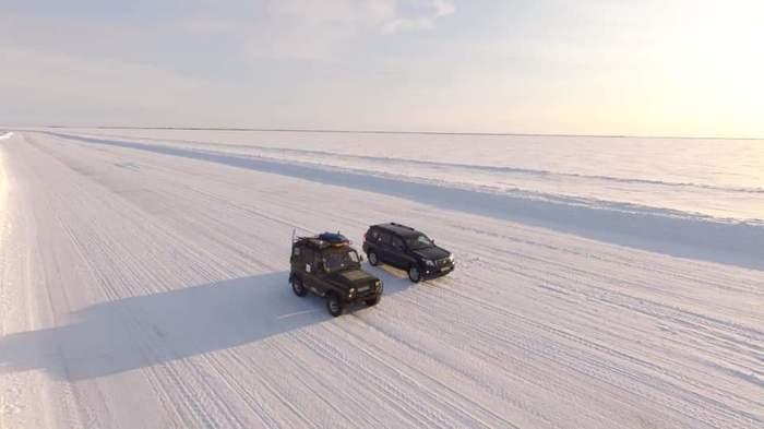 """Горный Хаманел, зимник по реке Обь в Яр-Сале , МКАД отдыхает. А мы продолжаем экспедицию """"На Север"""". Север, Путешествия, Авто, Ямал, Фотография"""
