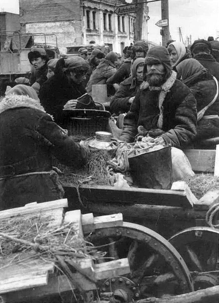 Смоленск под оккупацией Вторая мировая война, Смоленск, История СССР, Фотография, Длиннопост