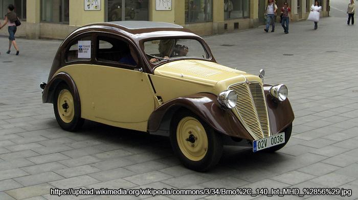 Zbrojovka Z6 Hurvnek 1935 (1935-1936) Автоистория, Чехия, Длиннопост