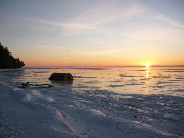 Восемь рассветов на Байкале Путешествия, Байкал, Рассвет, Длиннопост