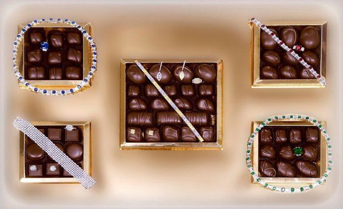 Сколько стоит самая дорогая коробка конфет Конфеты, Необычные подарки