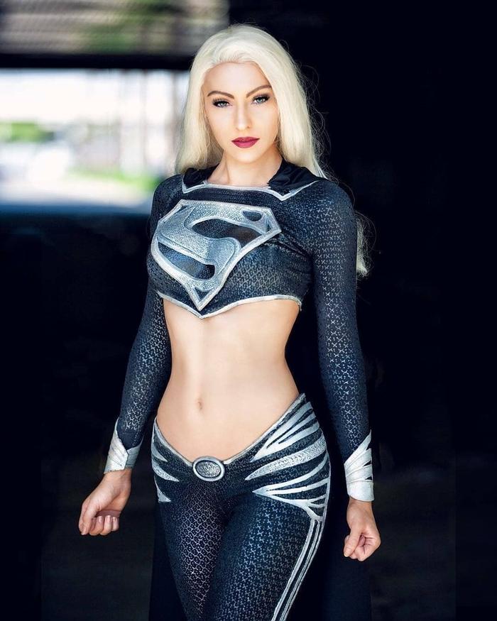 Supergirl Косплей, Sylviaslays, Супергерл, DC Comics, Длиннопост