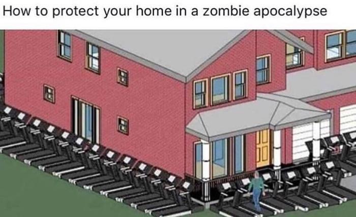 Как защитить дом во время зомби-апокалипсиса