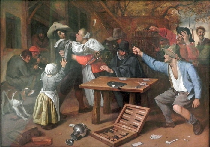 Голландские поединки на ножах: пьяные матросы, порезанные зады и люмпен-сатисфакция История, Боевые искусства, Голландия, На ножах, Интересное, Длиннопост