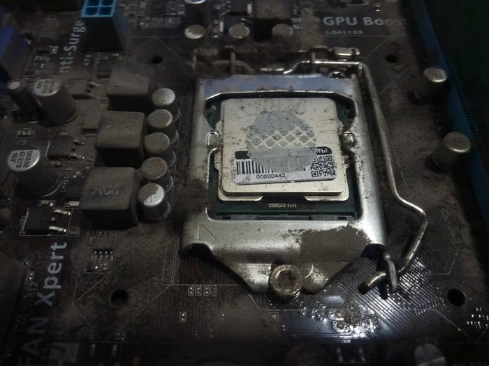 Ну как так то Fail, Чистка компьютера, Наклейка, Процессор, Рукожоп