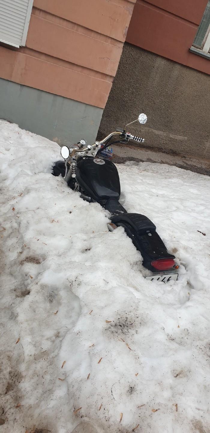 Самарские подснежники Самара, Весна, Мотоциклы