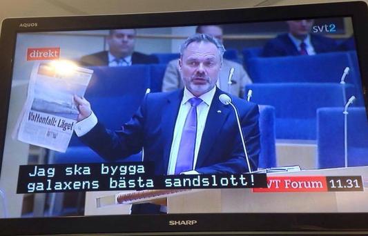 Очень весомый аргумент Юмор, Телевидение, Шведы