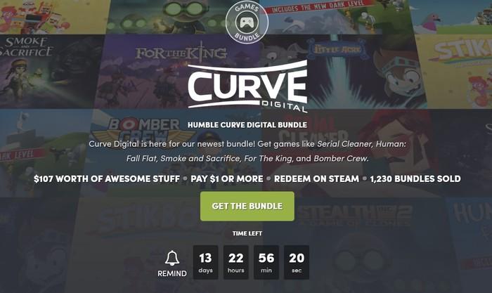 Humble Curve Digital Bundle Humble Bundle, Steam, Не халява, Длиннопост