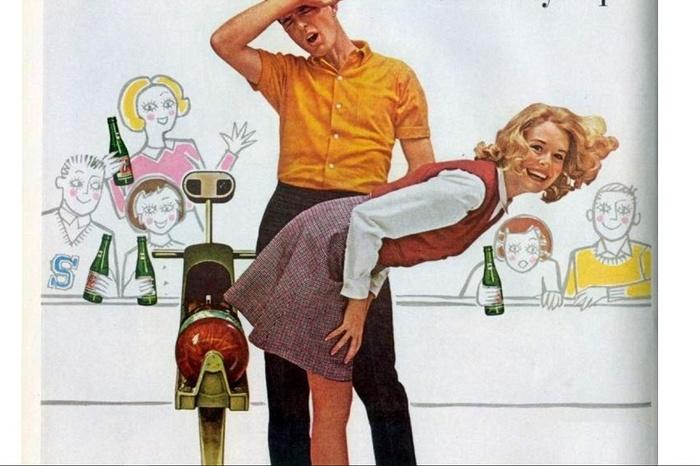 Тайна названия 7UP и психоделическая реклама 1969-1973 Реклама, 7up, Лимонад, Длиннопост