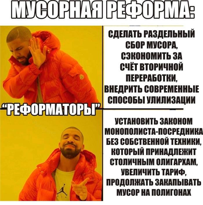 Мусорная реформа Мусорная реформа, Новосибирск, Оператор, Самостоятельность, Раздельный сбор мусора, Негатив