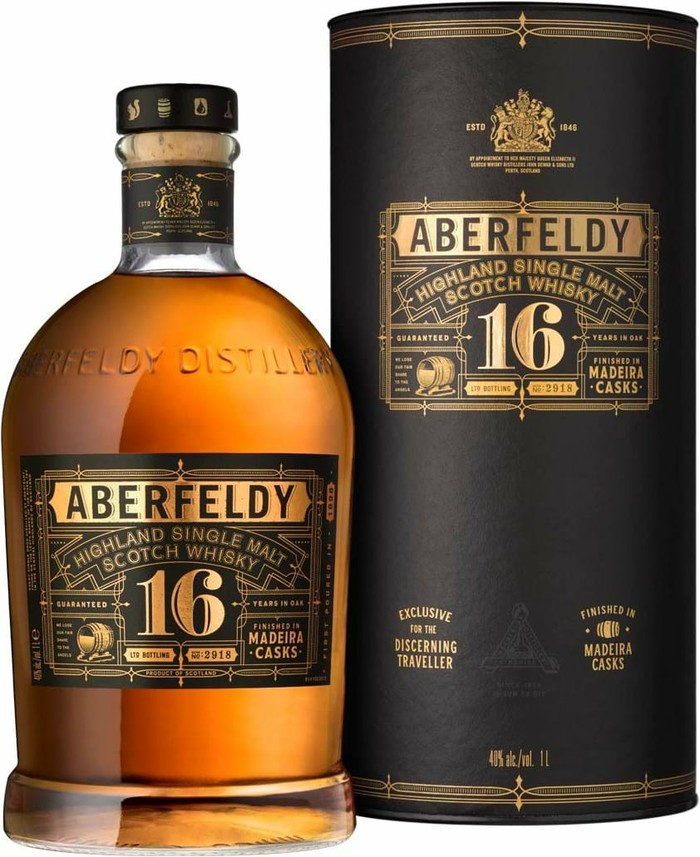 Aberfeldy 16 y.o. Madeira cask finish Шотландский виски, Виски, Алкоголь, Выбор напитка
