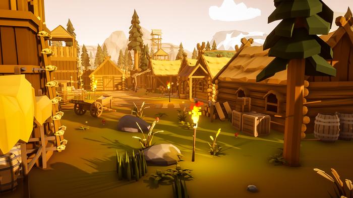 Peekaboo - Графика, викинги и карты. Дневники разработчиков #2. Gamedev, New game!, Peekaboo, Prophunt, Indiedev, Low poly, Длиннопост