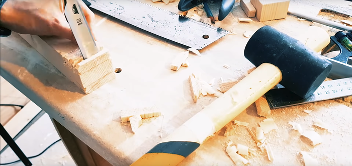 Табуретик без станков от коротышки Своими руками, Мебель своими руками, Рукоделие с процессом, Видео, Длиннопост
