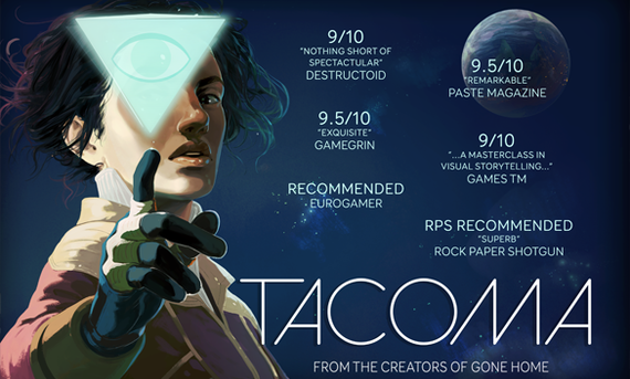 Tacoma Free Халява, Humble Bundle, Раздача, Не Steam, Drm Free