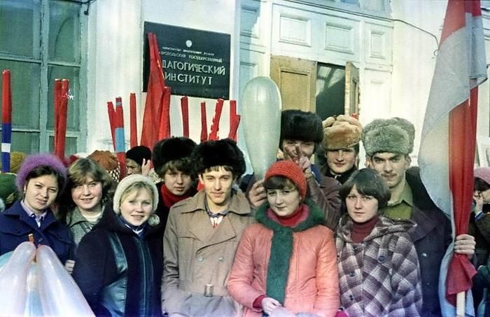 Весна в СССР 1976 год