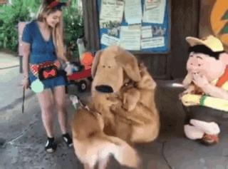— Ты, конечно, странный пес, но ты мне нравишься!