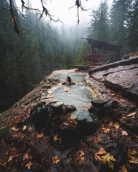 Горячие источники в Орегоне