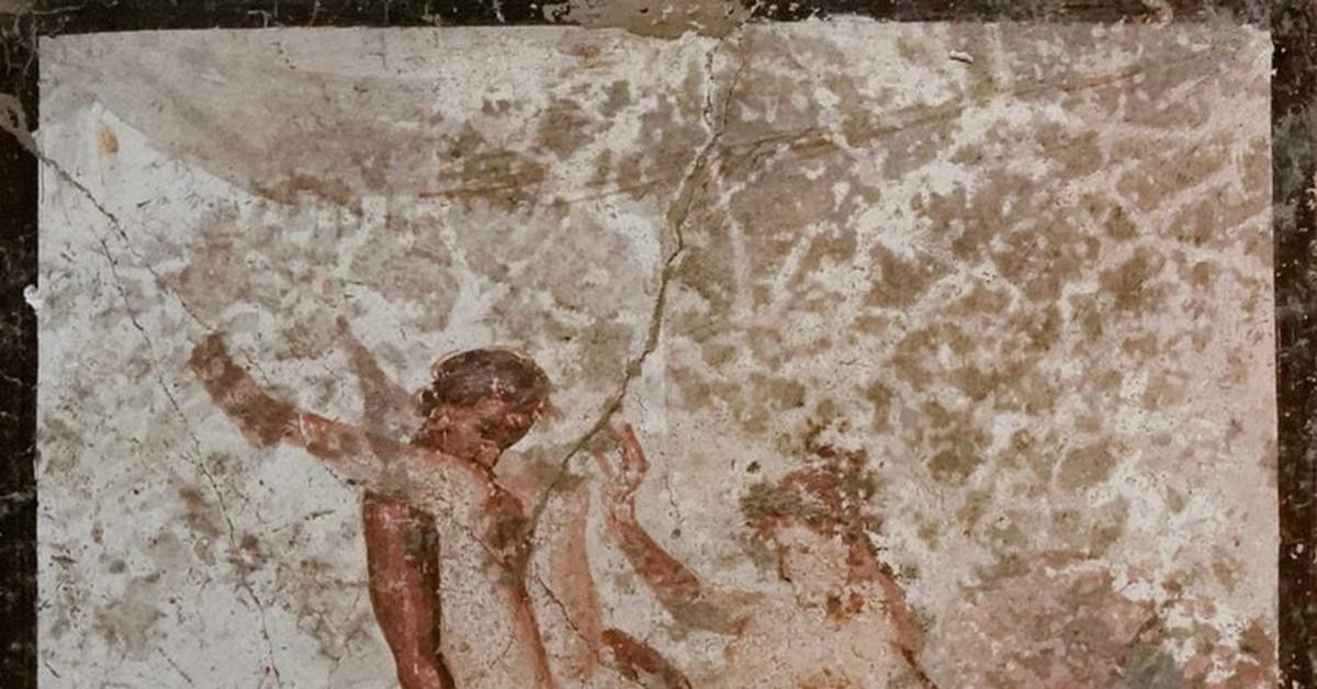 тогда древние эро фрески фото римских борделей крути, прикосновение