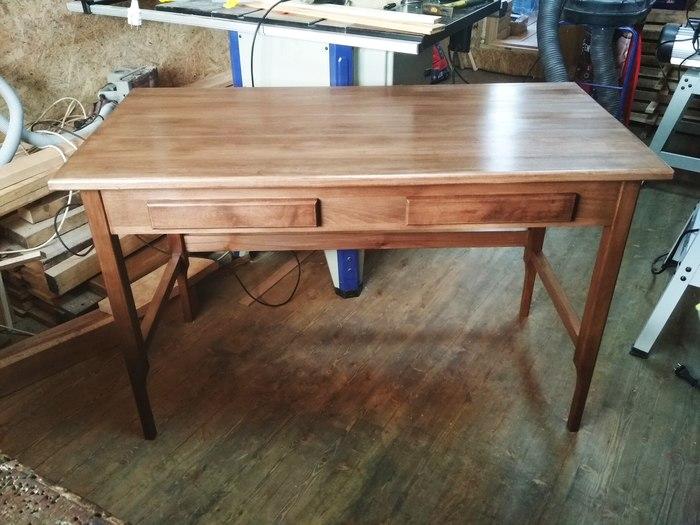 Как я делал стол, который не качается на кривом полу. Часть 2. Изделия из дерева, Своими руками, Стол, Столяр, Длиннопост, Устойчивый стол, Бук