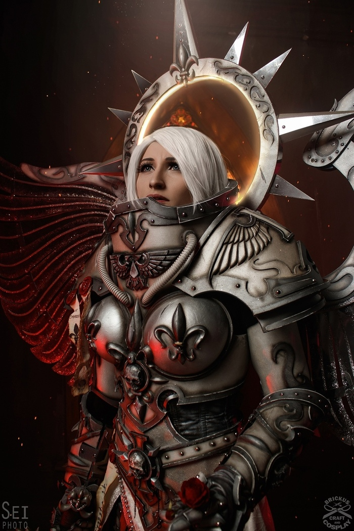 Warhammer Warhammer 40k, Косплей, Wh Other, Длиннопост, Saint celestine, Adeptus Mechanicus