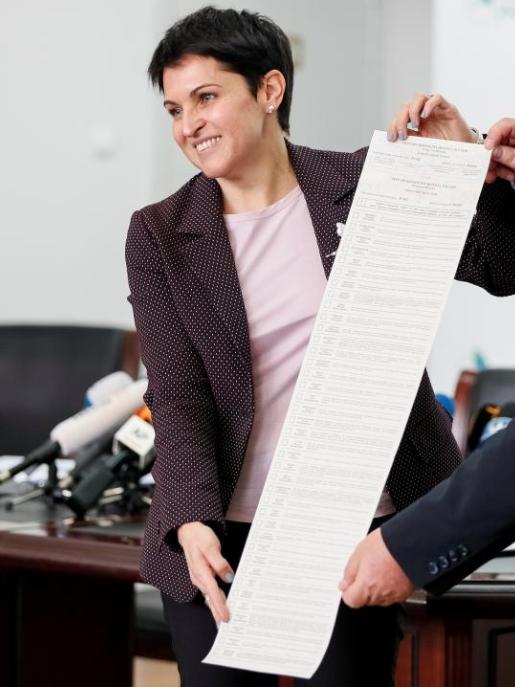 Бюллетень на выборах президента Украины Выборы, Украина, Бюллетень